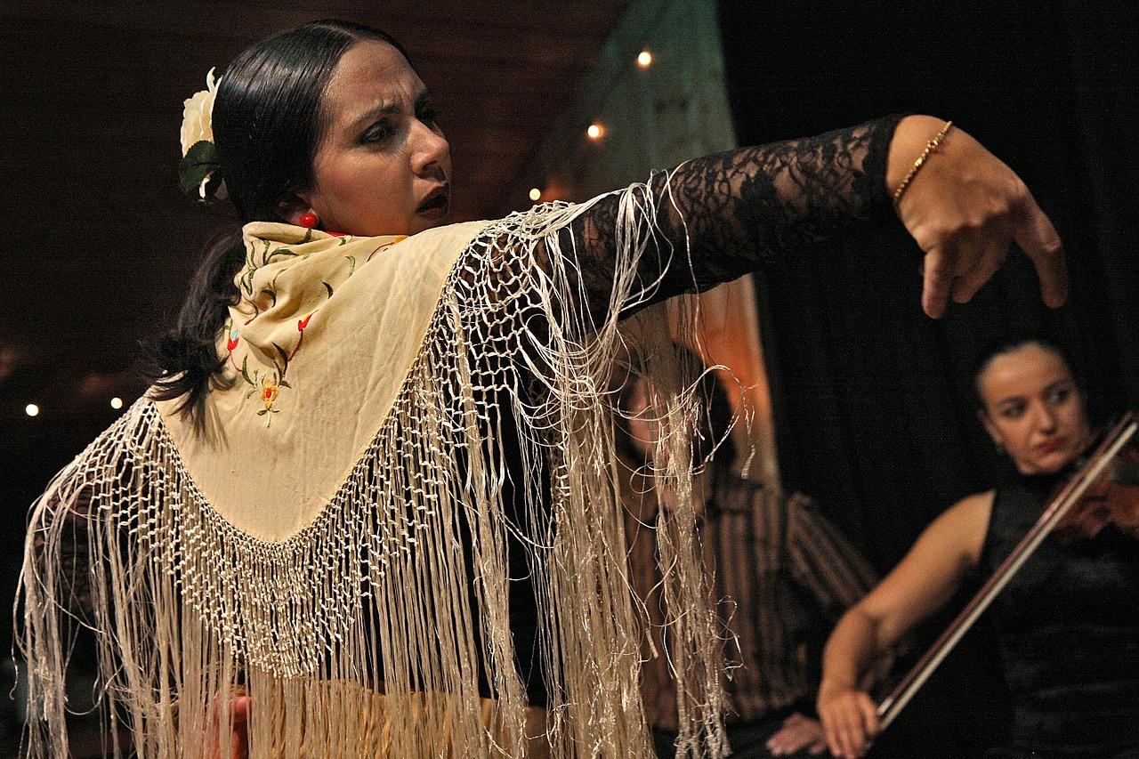 flamenco, dance, latino
